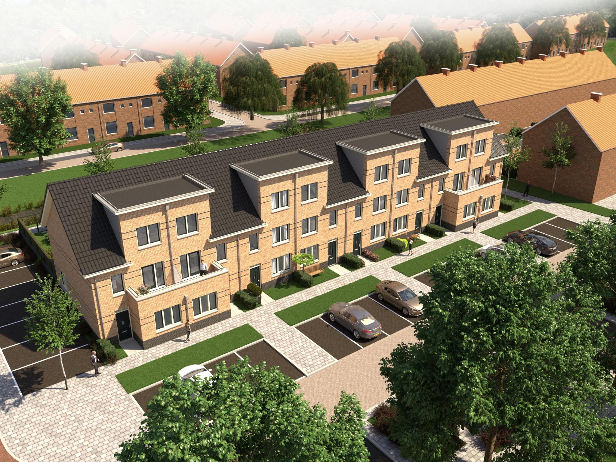 8 Nieuwbouwwoningen in Alblasserdam